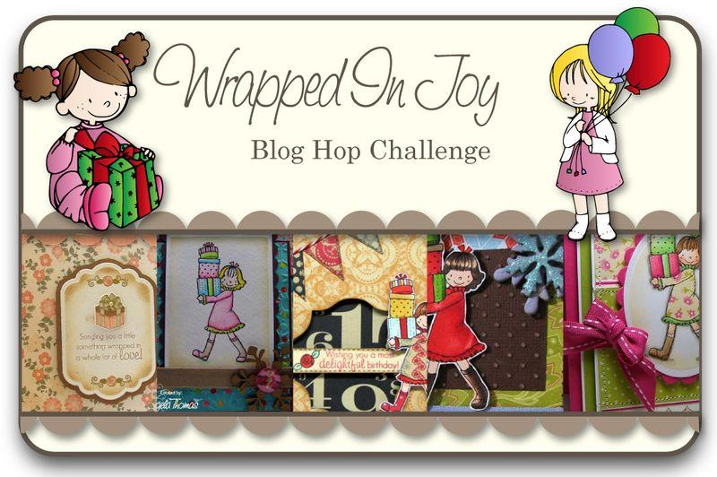 Wrapped In Joy Blog Hop Challenge