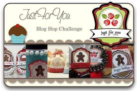 Just For You Blog Hop Challenge
