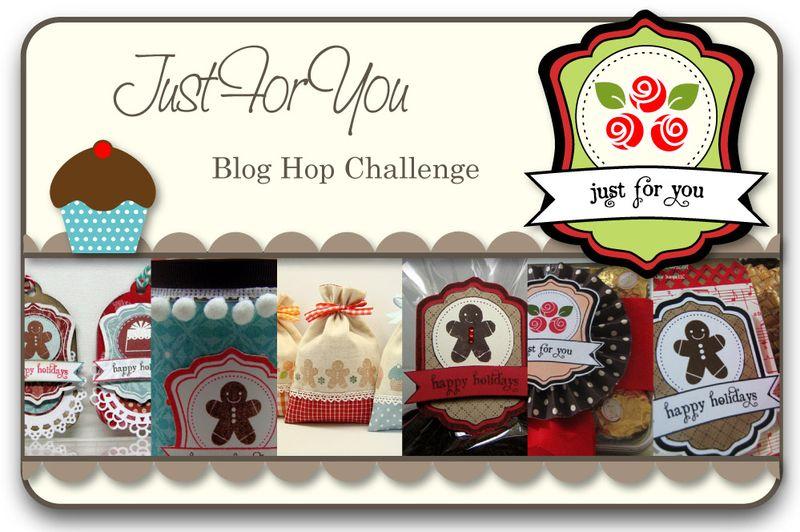 Just For You Blog Hop Challenge