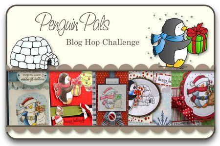 Penguin Pals Blog Hop Challenge